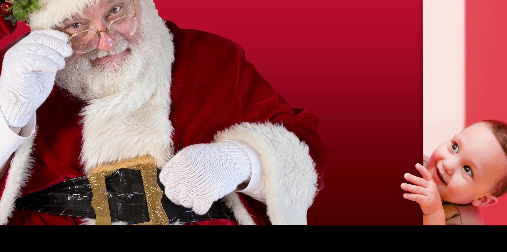 Santa with kid  1