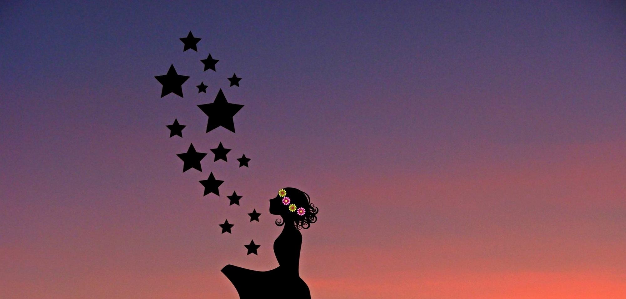 Girl & Stars