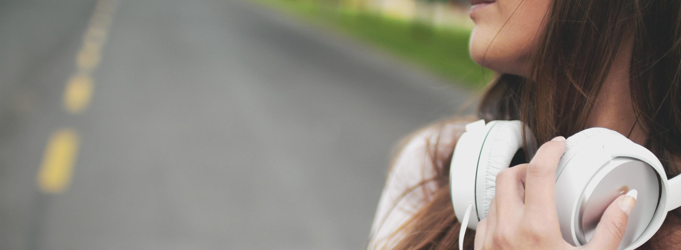 teen on road
