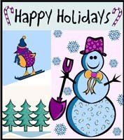 clip art snowman